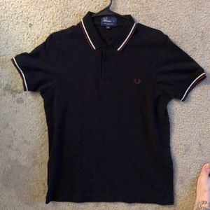 Fred perry polo size medium slim fit